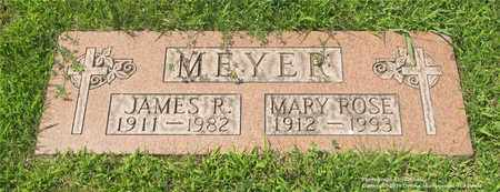 MEYER, MARY ROSE - Lucas County, Ohio | MARY ROSE MEYER - Ohio Gravestone Photos