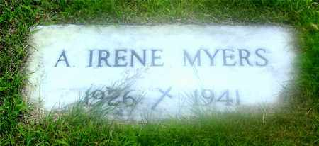 MEYERS, A. IRENE - Lucas County, Ohio | A. IRENE MEYERS - Ohio Gravestone Photos