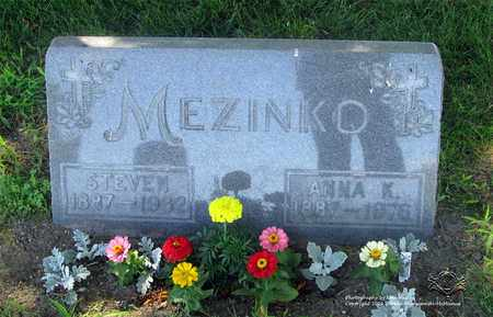 MEZINKO, STEVEN - Lucas County, Ohio | STEVEN MEZINKO - Ohio Gravestone Photos