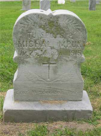 MRUK, MICHAL - Lucas County, Ohio | MICHAL MRUK - Ohio Gravestone Photos
