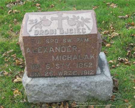 MICHALAK, ALEXANDER - Lucas County, Ohio   ALEXANDER MICHALAK - Ohio Gravestone Photos