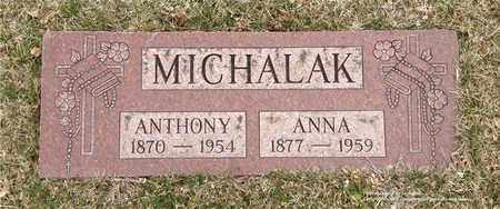 MICHALAK, ANNA - Lucas County, Ohio | ANNA MICHALAK - Ohio Gravestone Photos