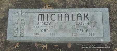 STACHOWICZ MICHALAK, JOZEFA - Lucas County, Ohio | JOZEFA STACHOWICZ MICHALAK - Ohio Gravestone Photos