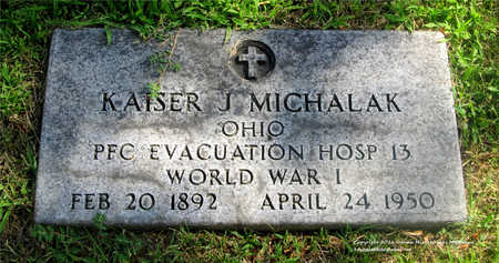 MICHALAK, KAISER J. - Lucas County, Ohio | KAISER J. MICHALAK - Ohio Gravestone Photos