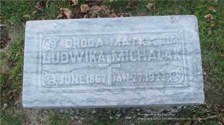 MICHALAK, LUDWIKA - Lucas County, Ohio | LUDWIKA MICHALAK - Ohio Gravestone Photos