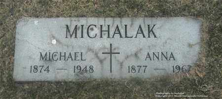 MICHALAK, MICHAEL - Lucas County, Ohio | MICHAEL MICHALAK - Ohio Gravestone Photos
