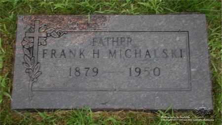 MICHALSKI, FRANK H. - Lucas County, Ohio | FRANK H. MICHALSKI - Ohio Gravestone Photos