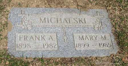 MICHALSKI, FRANK A. - Lucas County, Ohio | FRANK A. MICHALSKI - Ohio Gravestone Photos