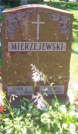 MIERZEJEWSKI, JOHN L. - Lucas County, Ohio | JOHN L. MIERZEJEWSKI - Ohio Gravestone Photos
