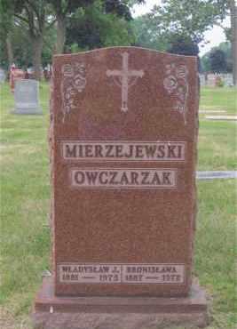 MIERZEJEWSKI, WLADYSLAW (WALTER) - Lucas County, Ohio | WLADYSLAW (WALTER) MIERZEJEWSKI - Ohio Gravestone Photos