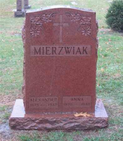 MIERZWIAK, ALEXANDER - Lucas County, Ohio | ALEXANDER MIERZWIAK - Ohio Gravestone Photos