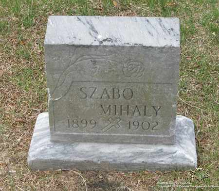 MIHALY, SZABO - Lucas County, Ohio | SZABO MIHALY - Ohio Gravestone Photos