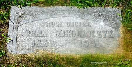 MIKOLAJCZYK, JOZEF - Lucas County, Ohio | JOZEF MIKOLAJCZYK - Ohio Gravestone Photos