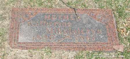 MIKOLAJCZYK, KATHERINA - Lucas County, Ohio | KATHERINA MIKOLAJCZYK - Ohio Gravestone Photos