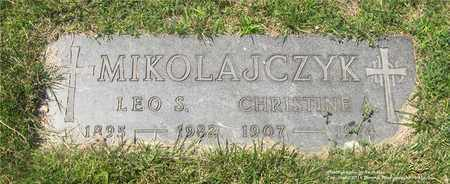 MIKOLAJCZYK, CHRISTINE A. - Lucas County, Ohio | CHRISTINE A. MIKOLAJCZYK - Ohio Gravestone Photos