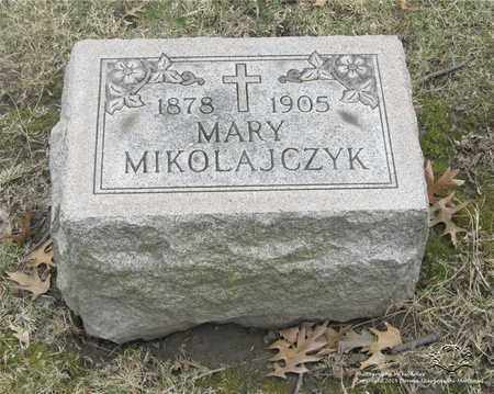 MIKOLAJCZYK, MARY - Lucas County, Ohio | MARY MIKOLAJCZYK - Ohio Gravestone Photos