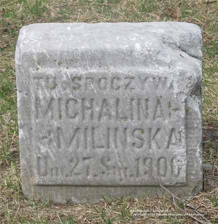 MILINSKA, MICHALINA H. - Lucas County, Ohio | MICHALINA H. MILINSKA - Ohio Gravestone Photos