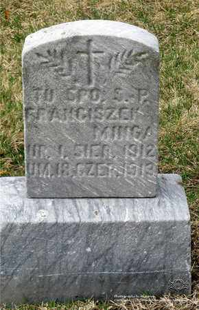 MINGA, FRANCISZEK - Lucas County, Ohio | FRANCISZEK MINGA - Ohio Gravestone Photos