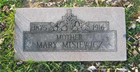 SZNIEL MISIEWICZ, MARY - Lucas County, Ohio | MARY SZNIEL MISIEWICZ - Ohio Gravestone Photos