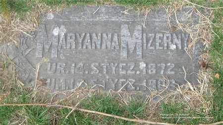 MIZERNY, MARYANNA - Lucas County, Ohio | MARYANNA MIZERNY - Ohio Gravestone Photos