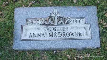 MODROWSKI, ANNA - Lucas County, Ohio | ANNA MODROWSKI - Ohio Gravestone Photos