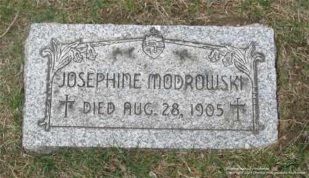 MODROWSKI, JOSEPHINE - Lucas County, Ohio | JOSEPHINE MODROWSKI - Ohio Gravestone Photos