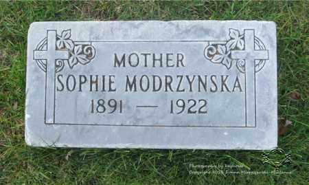 MODRZYNSKA, SOPHIE - Lucas County, Ohio | SOPHIE MODRZYNSKA - Ohio Gravestone Photos