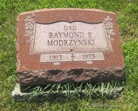 MODRZYNSKI, RAYMOND P. - Lucas County, Ohio | RAYMOND P. MODRZYNSKI - Ohio Gravestone Photos