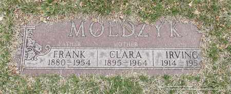 MOLDZYK, IRVING - Lucas County, Ohio | IRVING MOLDZYK - Ohio Gravestone Photos