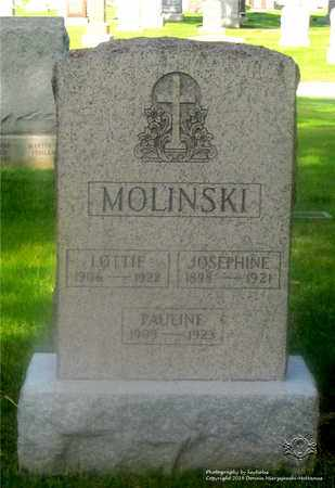 MOLINSKI, LOTTIE - Lucas County, Ohio | LOTTIE MOLINSKI - Ohio Gravestone Photos