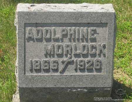 DONENBERG MORLOCK, ADOLPHINE - Lucas County, Ohio | ADOLPHINE DONENBERG MORLOCK - Ohio Gravestone Photos