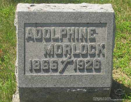 MORLOCK, ADOLPHINE - Lucas County, Ohio | ADOLPHINE MORLOCK - Ohio Gravestone Photos