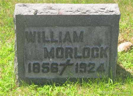 MORLOCK, WILLIAM - Lucas County, Ohio | WILLIAM MORLOCK - Ohio Gravestone Photos