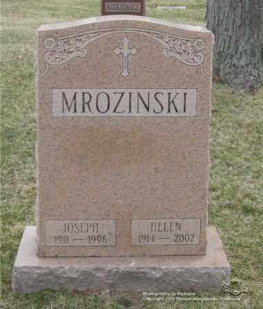 MROZINSKI, HELEN - Lucas County, Ohio | HELEN MROZINSKI - Ohio Gravestone Photos