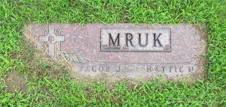 MRUK, JACOB - Lucas County, Ohio | JACOB MRUK - Ohio Gravestone Photos