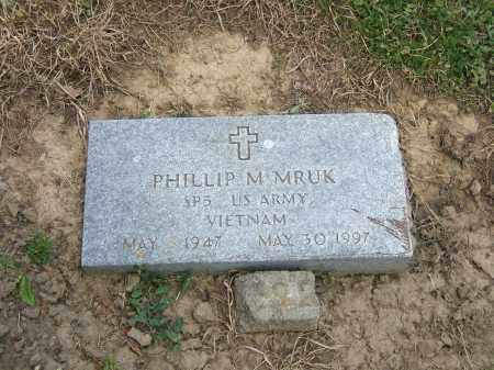 MRUK, PHILLIP M - Lucas County, Ohio | PHILLIP M MRUK - Ohio Gravestone Photos