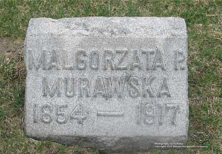 "LUZNY MURAWSKA, MALGORZATA P. ""MARGARET"" - Lucas County, Ohio | MALGORZATA P. ""MARGARET"" LUZNY MURAWSKA - Ohio Gravestone Photos"