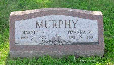 MURPHY, OZANNA M. - Lucas County, Ohio | OZANNA M. MURPHY - Ohio Gravestone Photos