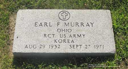 MURRAY, EARL F. - Lucas County, Ohio | EARL F. MURRAY - Ohio Gravestone Photos