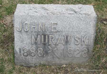 MURAWSKI, JOHN E. - Lucas County, Ohio | JOHN E. MURAWSKI - Ohio Gravestone Photos