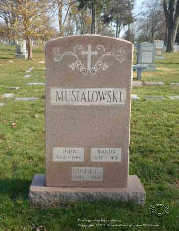 MUSIALOWSKI, BARBARA J. - Lucas County, Ohio | BARBARA J. MUSIALOWSKI - Ohio Gravestone Photos