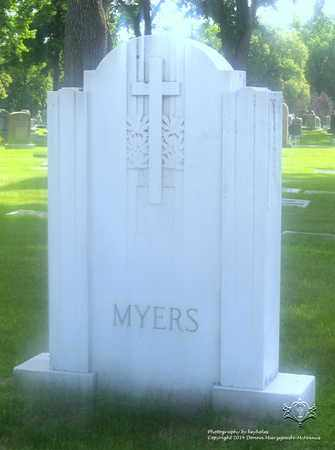 MYERS, FAMILY MONUMENT - Lucas County, Ohio | FAMILY MONUMENT MYERS - Ohio Gravestone Photos