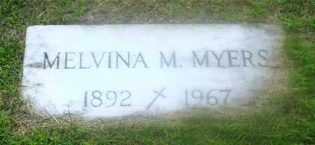 DEGUIRE MYERS, MELVINA M. - Lucas County, Ohio | MELVINA M. DEGUIRE MYERS - Ohio Gravestone Photos