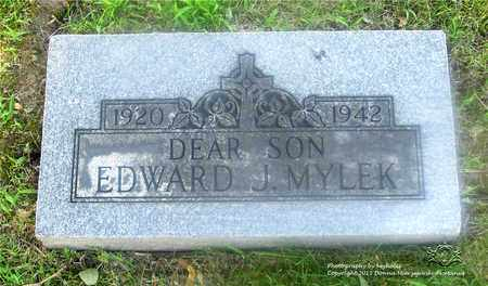 MYLEK, EDWARD J. - Lucas County, Ohio | EDWARD J. MYLEK - Ohio Gravestone Photos