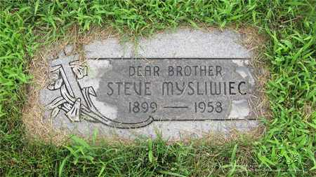 MYSLIWIEC, STEVE - Lucas County, Ohio | STEVE MYSLIWIEC - Ohio Gravestone Photos