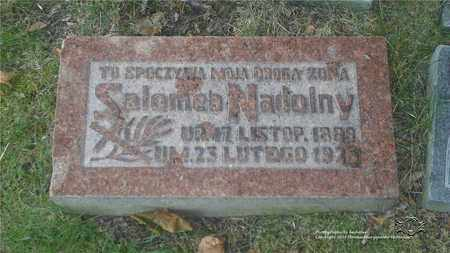 NADOLNY, SALOMEA - Lucas County, Ohio | SALOMEA NADOLNY - Ohio Gravestone Photos