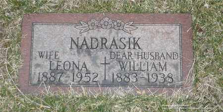 NADRASIK, WILLIAM - Lucas County, Ohio | WILLIAM NADRASIK - Ohio Gravestone Photos