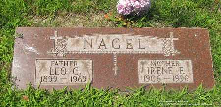 NAGEL, IRENE F. - Lucas County, Ohio | IRENE F. NAGEL - Ohio Gravestone Photos