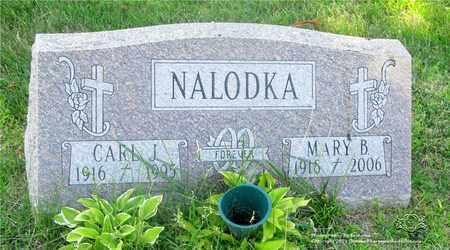 NALODKA, MARY B. - Lucas County, Ohio | MARY B. NALODKA - Ohio Gravestone Photos