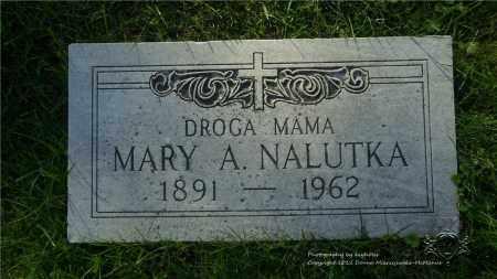 NALUTKA, MARY A. - Lucas County, Ohio | MARY A. NALUTKA - Ohio Gravestone Photos